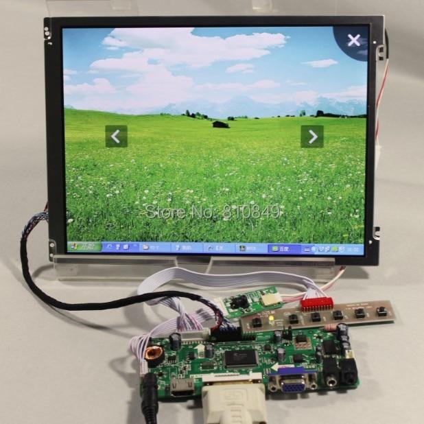 HDMI+DVI+VGA driver board+10.4inch 800*600 Led backlight lcd replace G104SN03 V1 vga 2av revering driver board 8inch 800 600 lcd panel ej080na 05b at080tn52