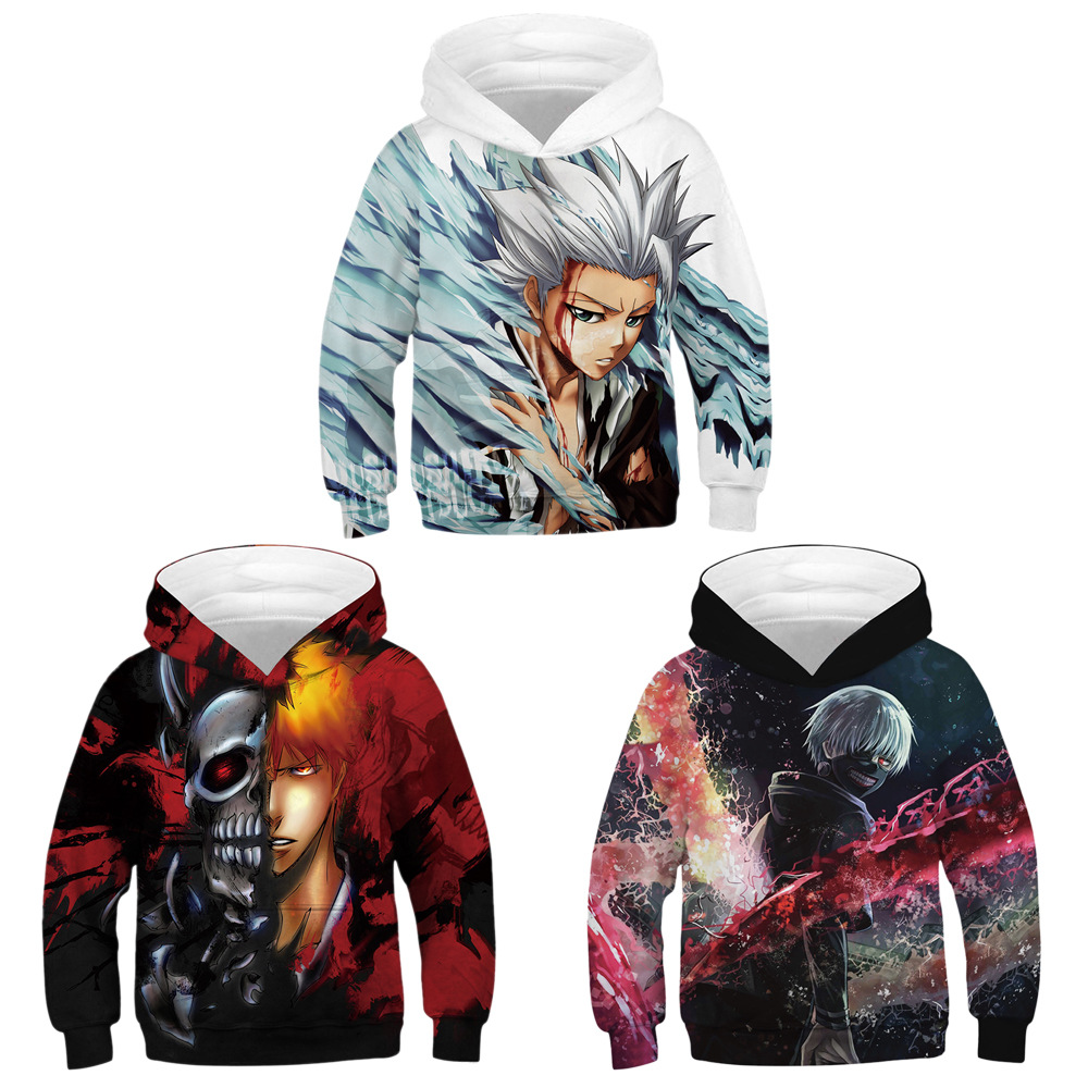 New Children Clothing 3D Print Cartoon characters Hoodies Kids Sweatshirt Boy Girl Long Sleeve Pullover Anime clothes(China)