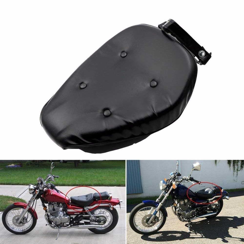 Motorcycle Driver Front Leather Seat Cushion Cover Saddle Pad For Honda Rebel CMX250 86-12 CMX250C 03-12 CA250 86-12
