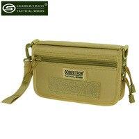 Seibertron Motorcycle race handbags Wallet Carry Case Holster Phone Holder Black khaki Clutch bag wrist bag
