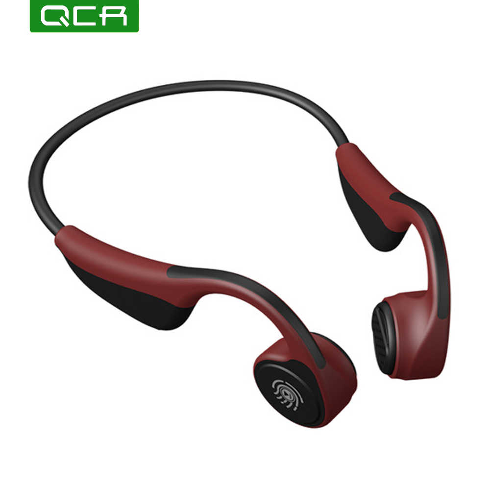 QCR Bluetooth 5.0 S. Wear V9 ワイヤレスヘッドフォン骨伝導イヤホン屋外スポーツヘッドセットとマイクヘッドセット PK Z8