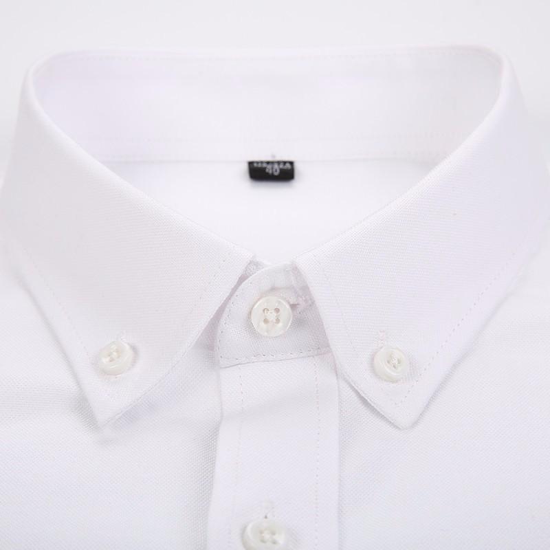 HTB1EFctKVXXXXXXXpXXq6xXFXXXn - Новый Бренд Моды Рубашки С Длинным Рукавом Бизнес Формальный Номера Утюг Хлопчатобумажная Социальных Твердые Дизайн Мужской Рубашки Slim Fit X023