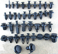 Universal Car Bumper Fender Trunk Expansion Screw Plastic Fasteners Clips For All Auto Plastic Screw Rivets Rriveting Clip