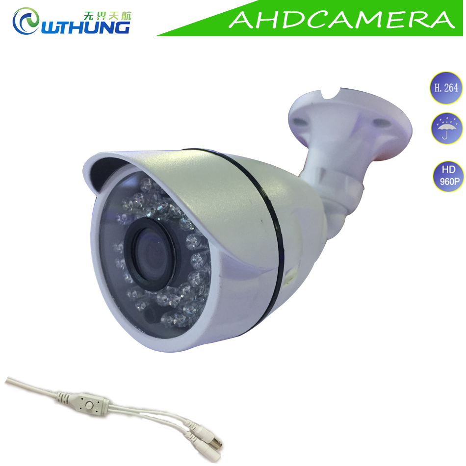 Free shipping to Russia 1 3MP 960P AHD Camera 1 3CMOS module OSD Motion Cam outdoor