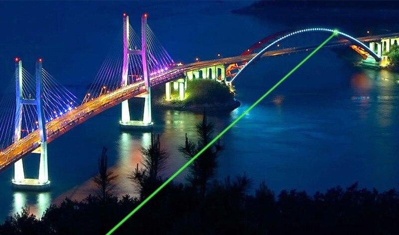 zk30 Green Laser pointer 303 5000mw High power Lazer SD Laser 303 presenter laser pointer + Safe Key + battery+charger