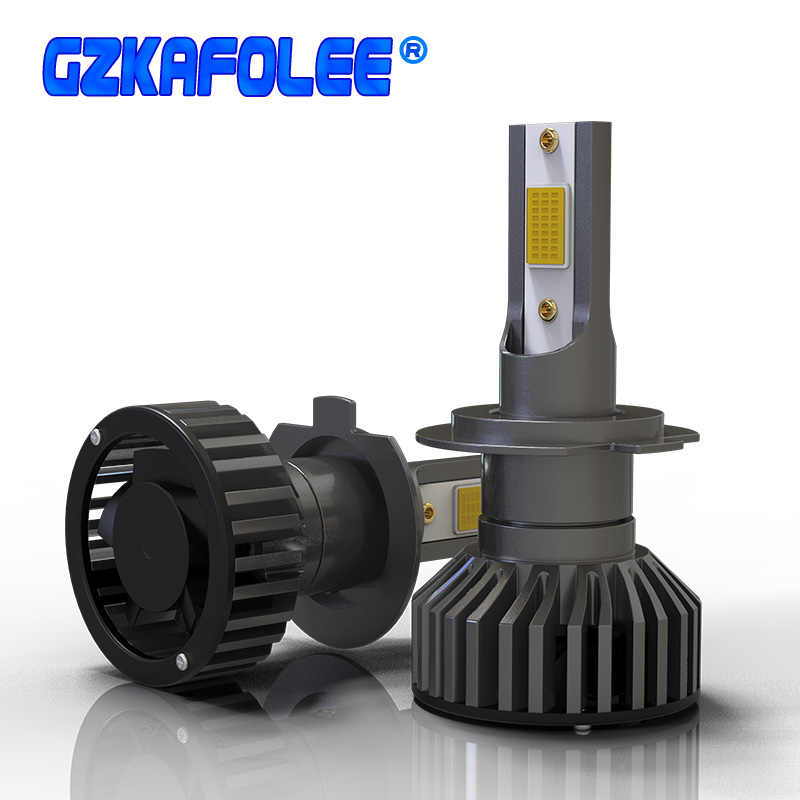 Mini Canbus H4 H7 LED Car Headlight 12V 24V 80W 12000LM H1 H11 HIR2 H16 9005 HB3 9006 HB4 H8 4300K 6000K 8000K Bulb Accessories