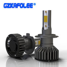 Mini Canbus H4 H7 LED Car Headlight 12V 24V 80W 12000LM H1 H11 HIR2 H16 9005 HB3 9006 HB4 H8 4300K 6000K 8000K Bulb Accessories(China)