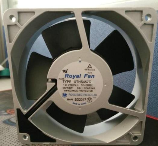 100% Tested Work Perfect for Royal fan UT125C[B40] 12038 200V 15/14W Fan Cooling чайные принадлежности fan work geming