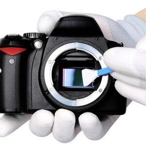 Image 2 - 10 sztuk suchy aparat do czyszczenia + 10 sztuk mokry aparat cyfrowy czujnik waciki do czyszczenia Nikon aparat canon APS C rama pełna ramka