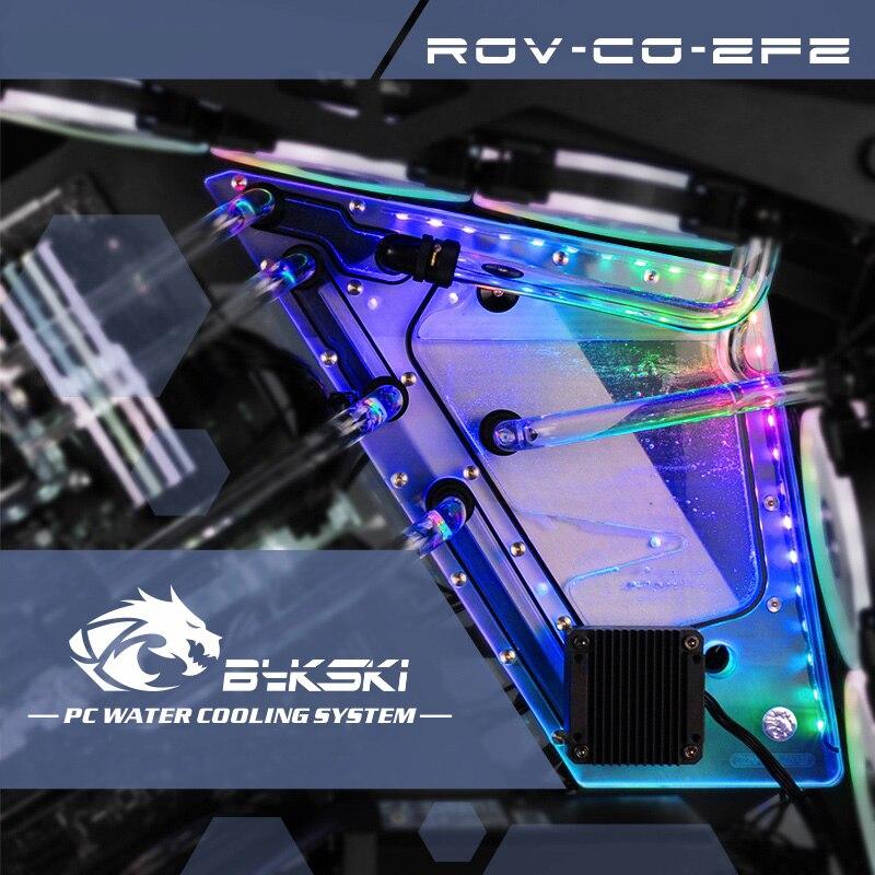 Bykski RGV-CG-ZFZ, Voie Navigable Conseils Kit Pour Cougar Conquérir Cas, RBW Voie Navigable Conseil CPU/GPU Bloc De L'eau Programme Kit,