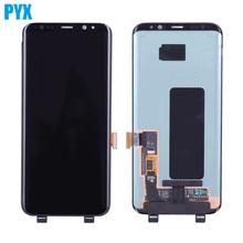 Tela original Samsung modelos Galaxy S8 S8plus, modelos Galaxy S8 S8plus, LCD e toque digitador, montagem G950F e G955 com moldura