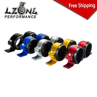 LZONE RACING FREE SHIPPING Dual Double Or Twin 044 Fuel Pump Bracket Billet Clamp Cradle Fuel