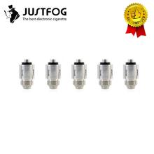 10 sztuk partia oryginalny JUSTFOG Q16 Pro cewki Q14 cewki 1 6ohm 1 2ohm rdzeń głowicy do Justfog C14 Q14 Q16 P16A P14A zestaw Justfog głowica cewki tanie tanio JUSTFOG Q16 Pro Coil Head Justfog C14 Q14 Q16 P16A P14A P16Pro Kit
