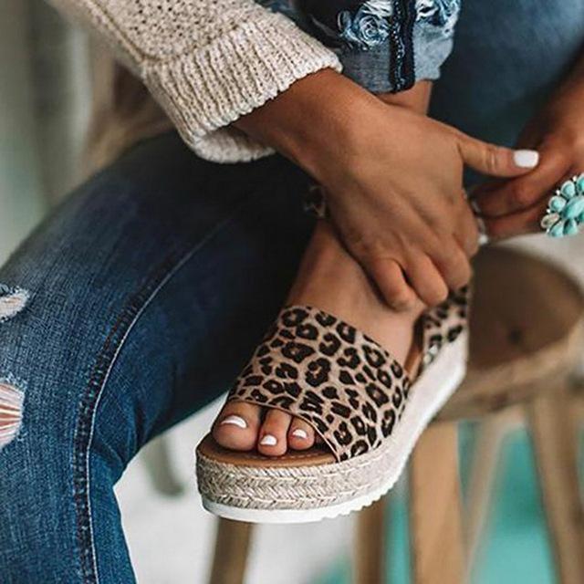 Sandals Women Wedges Shoes Pumps High Heels Sandals Summer 2019 Flip Flop Chaussures Femme Platform Sandals Sandalia Feminina