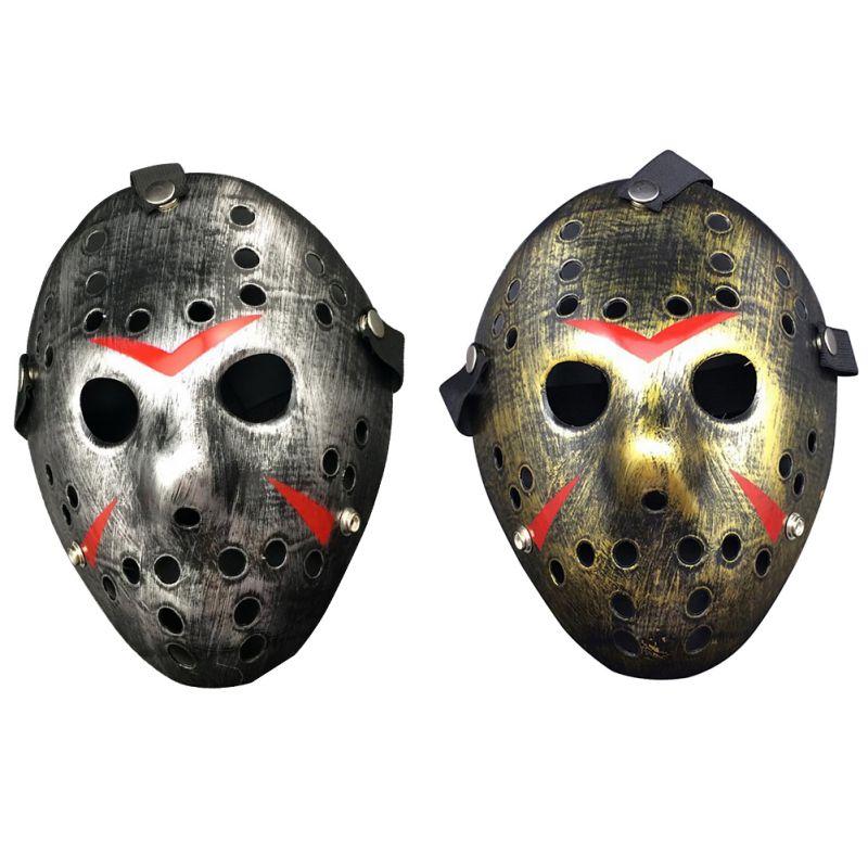 New Voorhees Jason  Scary Mask prop hockey Halloween Creepy MASK Friday13th NE8