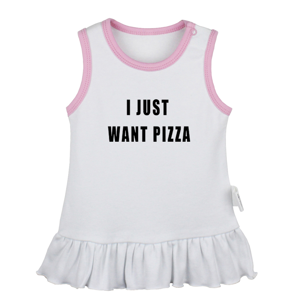 I Hate Pizza Babys Boys /& Girls Short Sleeve Bodysuit Outfits And Tshirt