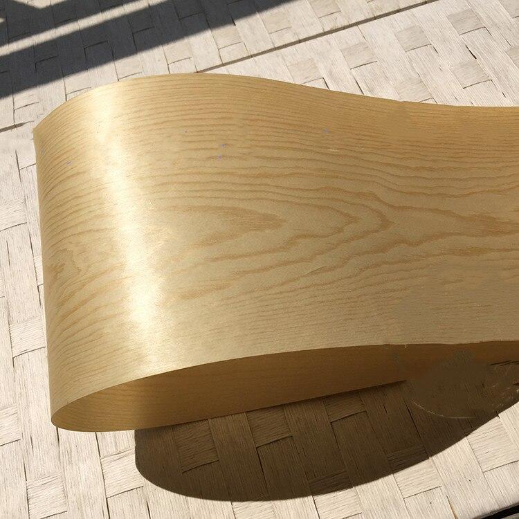 2X Natural Genuine Chinese Pine Wood Veneer 20cm X 2.5m 0.2mm Thickness C/C