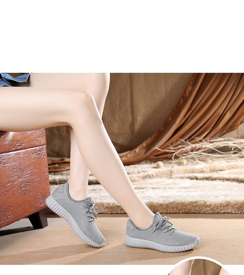 Mesh casual shoes women Breathable Lace Up white sneakers female soft lightweight summer flat Women Vulcanize Shoes 2019 VT243 (9)