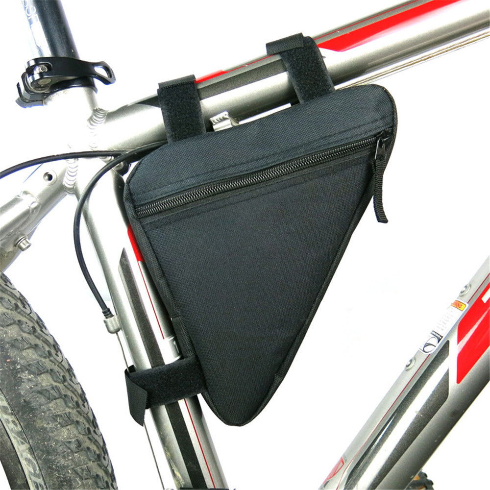 B-SOUL Bicycle Front Frame Bag Cycling Bike Tube Pouch Holder Saddle Panniers