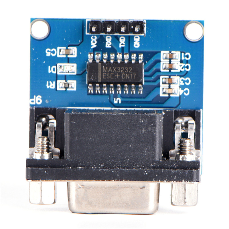 MAX3232 RS232 Serial Port To TTL Converter Module Female DB9 COM Serial MAX232 1pcs/lot