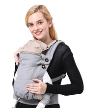 Ergonomic Baby Carrier 360 Organic Cotton Newborn Wrap Sling Baby Backpacks Infant Adjustable Kids Manduca Baby Carrier Sling promotion new backpack manduca infant carrier sling baby organic cotton suspenders wrap hipseat