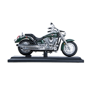 Image 4 - Maisto 1:18 Motorcycle Models Kawasaki Vulcan 2000 Diecast Plastic Moto Miniature Race Toy For Gift Collection