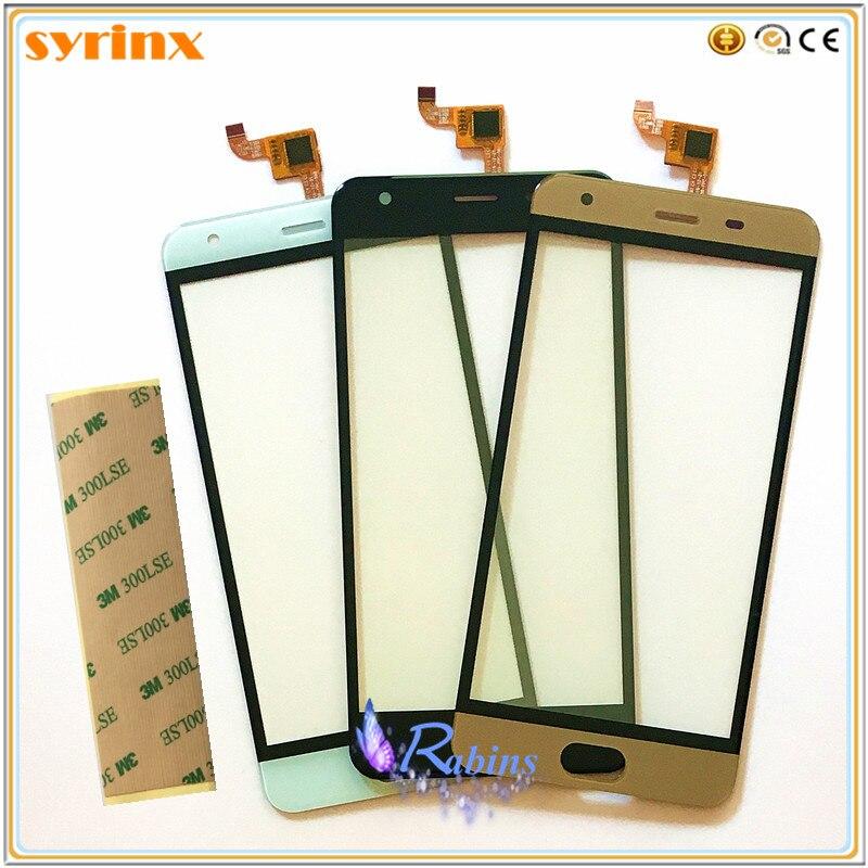 5.0 Téléphone Capteur Tactile Avant Verre Pour OUKITEL K4000 Plus Écran Tactile Digitizer Remplacement Tactile Panneau 3 m bande