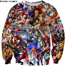 PLstar Cosmos Anime Sweatshirt new style fashion Harajuku Style  hoodies tops drop shipping