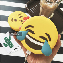Portable Emoji Powerbank Battery 2600MAH Unicorn Cartoon Design USB Output Charge Mobile Power For IOS Android Phone Power Bank
