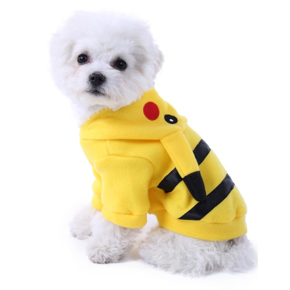 Emorias 1 Pcs Jersey Con Capucha Para Perros Pequeños Modelado De