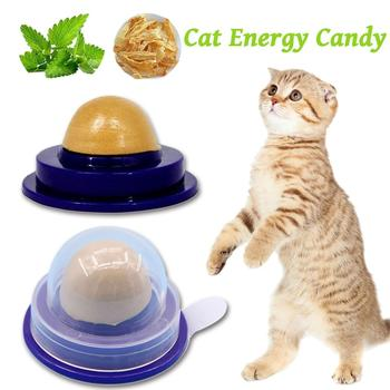 2018 Cat Vitamin Mint Rounded Toy Cat Solid Energy Candy Pet Toy Ball Snack Nontoxic Kitten Licking Snack