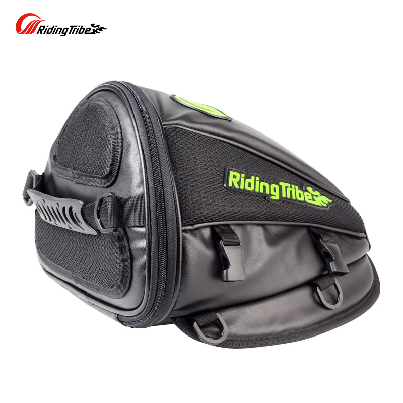 Motorcycle Bag Back Seat Bags Tank Oil Fuel Pack Moto Single Shoulder Bags Motor Parts Sport Motorbike Saddle Window Motocicleta Мотоцикл