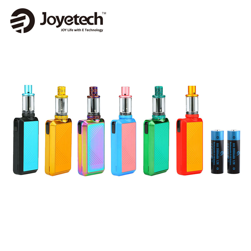 Original <font><b>Joyetech</b></font> Batpack Kit 2ml Joye ECO D16 Atomizer W/ <font><b>0.5ohm</b></font> <font><b>BFHN</b></font> Head Dual Rechargeable Battery 4400mAh Vape E-cig Kit image