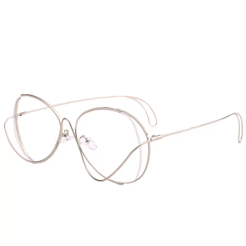 IMAKEFASHION 2017 Unique Wire Frame Round Glasses for Men and Women ...