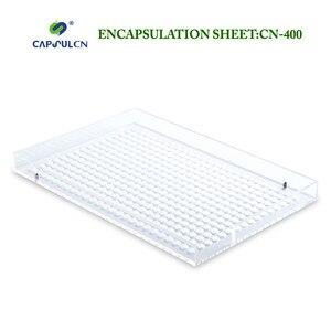 Image 5 - CN 400 000# 5#  manual capsule filler capusle filling machine encapsulation with 400 holes