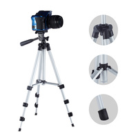 Professional Camera Tripod Stand Holder Mount For Mobile Iphone GoPro Canon Nikon Sony Camera Table Desk