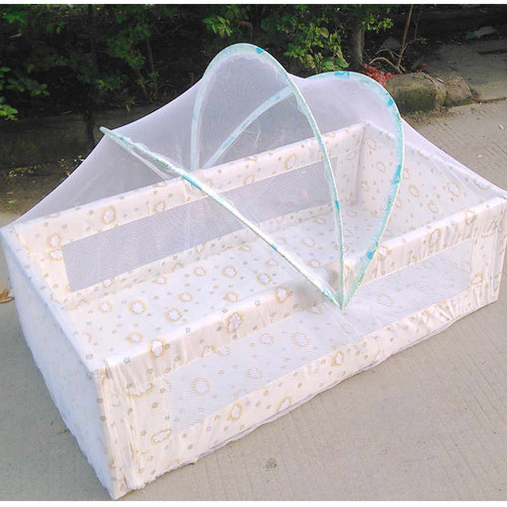 Universal Baby Cradle Bed Mosquito Nets Summer Baby Arched Mosquitos Net