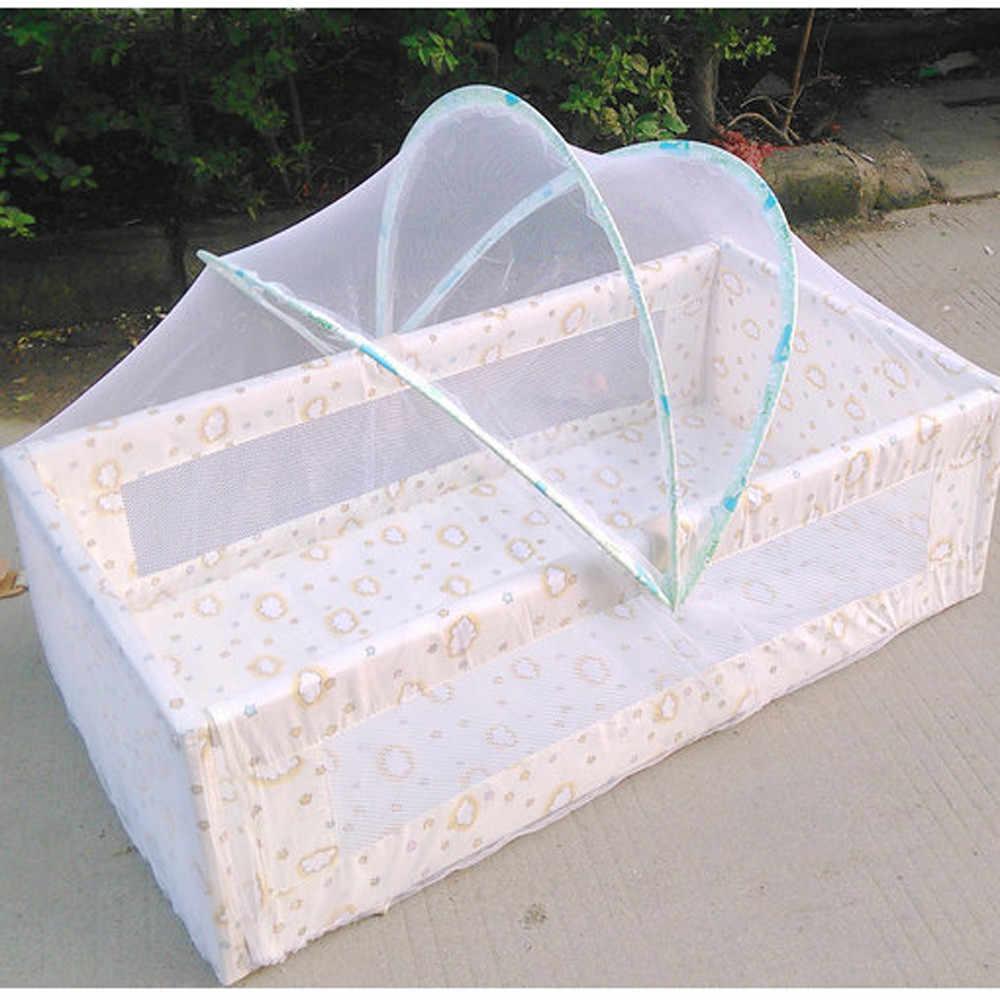 Universal bebé cama cuna mosquiteros verano bebé arco Mosquitos neto