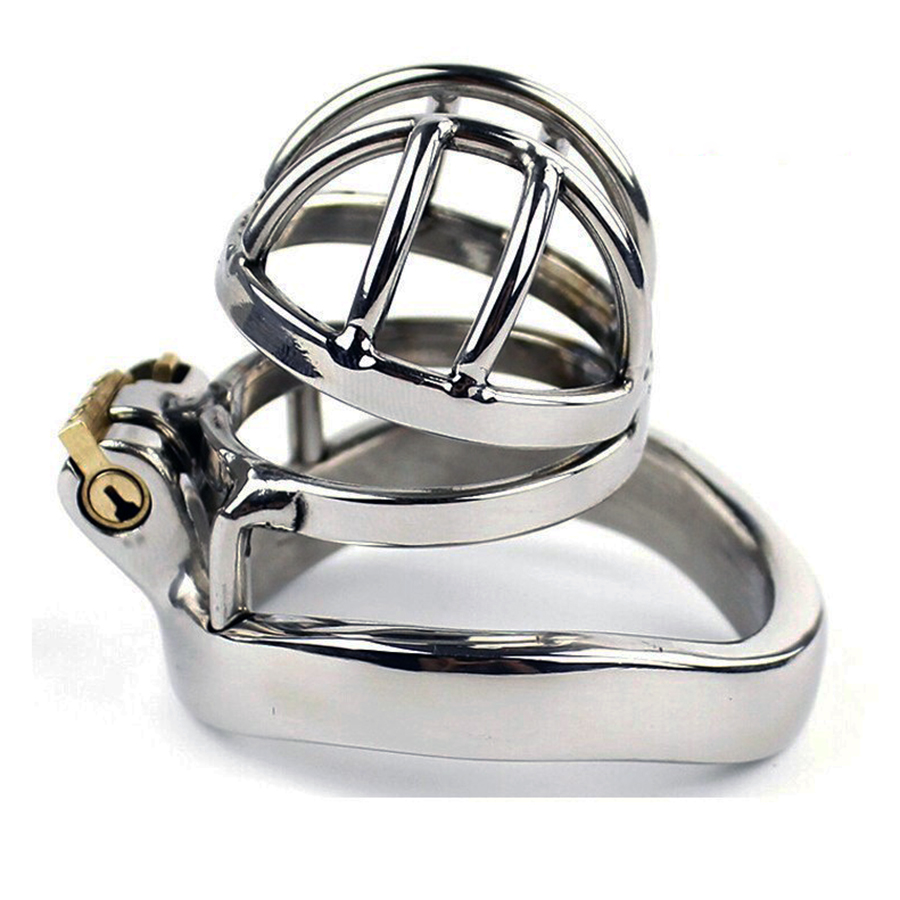 Stainless steel male chastity device small cage metal chastity cage chastity belt virginity Belt penis ring sex products 273 small chastity device stainless steel cock cage metal male chastity belt penis ring bondage sex toys dragon totem virginity lock