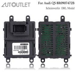 AUTOUTLET dla modułu LED Audi reflektor DRL jednostka sterująca ECU 8R0907472B dla reflektorów ksenonowych światła parkingowe do jazdy dziennej