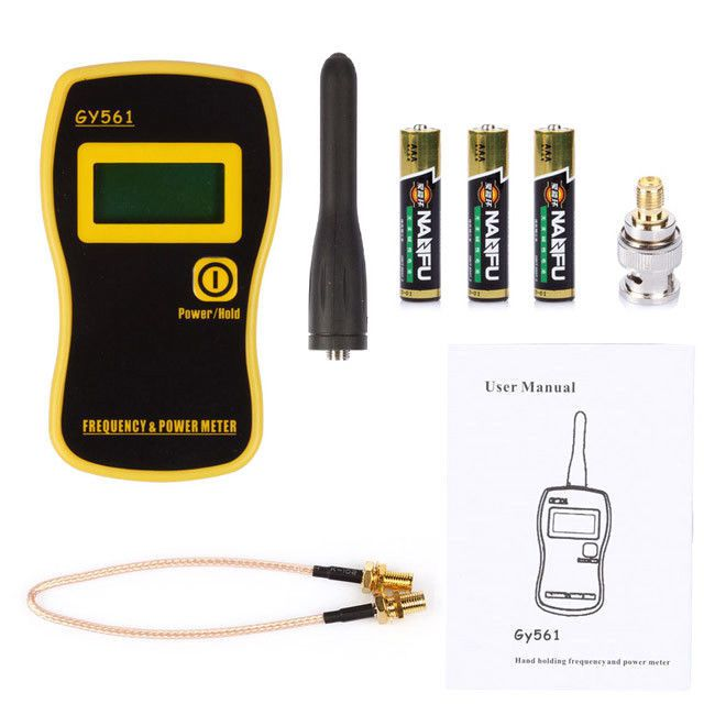 Appareil de contrôle tenu dans la main de compteur de fréquence de GY561 et compteur de puissance pour la Radio bidirectionnelle de jambon