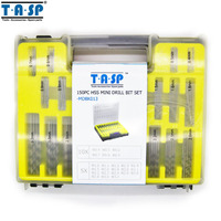 TASP 150PC 0 4 3 2mm HSS Micro Drill Bit Set Precision PCB Twist Drill Kit