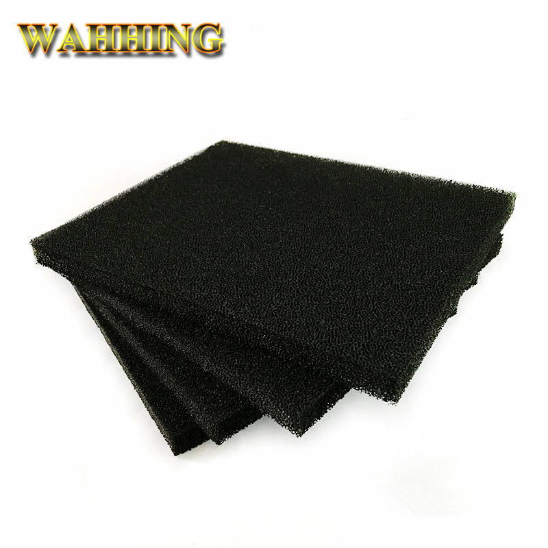5/10pcs High Quality Activated Carbon Filter Sponge For 493 Solder Smoke Absorber ESD Fume Extractor 13*13*1cm Black HY1272