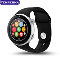 Femperna C5 Bluetooth 4.0 Smart Watch Sport Tracker HD Screen Support SIM Card phone call UV Monito for IOS Android Smartphone