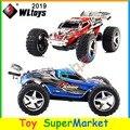WLtoys WL 2019 WL2019 5 Marchas de Velocidade Controle Remoto Monster Truck brinquedo Motor Do Carro RC Deriva Carro Elétrico Off Road Kart Modo