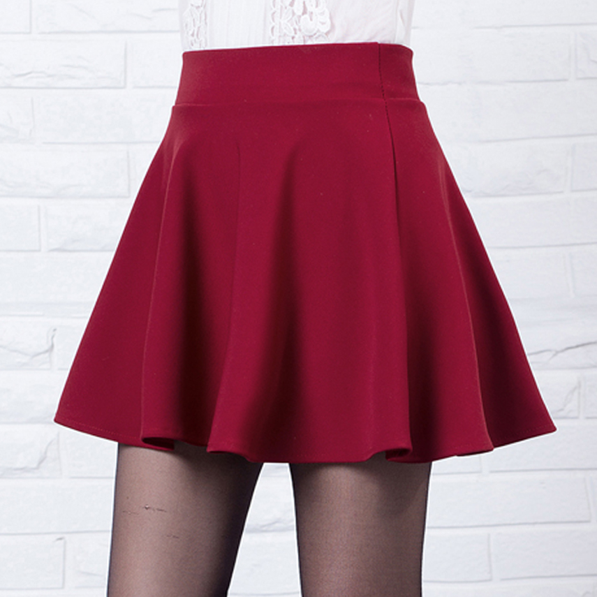 New short skirts womens 2016 new style casual vintage girls skirts ...