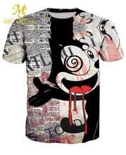2017 Summer New Men 3D  Michael Jackson Printed T-Shirt Men Short Sleeve Casual Rock Hip Hop T Shirt Homme M-6XL