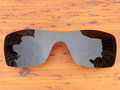 Polycarbonate-Black Replacement Lenses For Batwolf Sunglasses Frame 100% UVA & UVB Protection