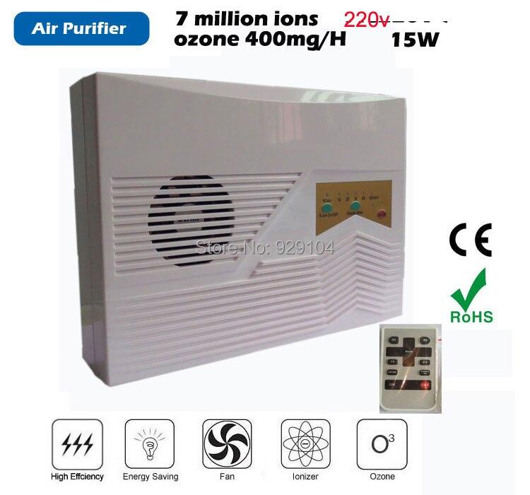 Générateur d'ozone de l'eau 220 v ozone puifier ménage et ozoneur ozonateur avec télécommande livraison gratuite en gros