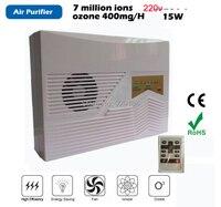 Nước máy phát điện ozone 220 v ozone puifier hộ gia đình ozonizer và ozonator với điều khiển từ xa miễn phí vận chuyển bán buôn
